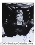 Autographs, Al Pacino Signed Scarface Photo