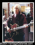 Autographs, Tom Petty Signed 8 x 10 Photo