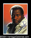 Autographs, Sidney Portier In-Person Signed Photo