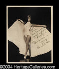 Autographs, Eleanor Powell Signed Vintage 8 x 10 Photograph