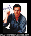 Autographs, Dennis Quaid In-Person Signed Photo