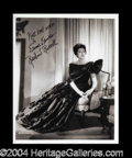 Autographs, Rosalind Russell