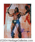 Autographs, Arnold Schwarzenegger In-Person Signed Photo