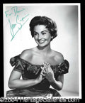 Autographs, Jean Simmons Attractive Signed Photograph