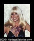 Autographs, Suzanne Somers Busty In-Person Signed Photo