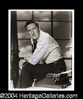 Autographs, Mickey Spillane Signed 8 x 10 Photograph