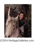 Autographs, Liv Tyler In-Person Signed LOR Photo