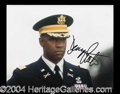 Autographs, Denzel Washington In-Person Signed Photo
