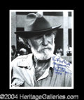 Autographs, Keenan Wynn Signed 8 x 10 Photo
