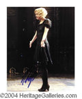 Autographs, Renee Zellweger Signed Chicago Photo