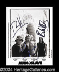Autographs, Audioslave Group Signed 8 x 10 Photo