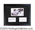 Autographs, The Beach Boys Signed Framed Display