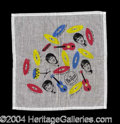 Autographs, The Beatles Original Vintage Scarf