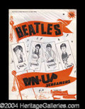 Autographs, The Beatles Rare Unopened 1964 Pinup Posters