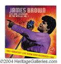 Autographs, James Brown Signed Record Album