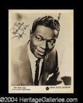 Autographs, Nat King Cole Vintage Signed Photograph