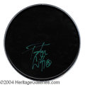 Autographs, Peter Criss KISS Signed Drumhead