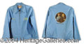 Autographs, John Denver & Frank Sinatra Original 1975 Tour Jacket