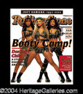 Autographs, Destiny's Child Signed Rolling Stone Magazine