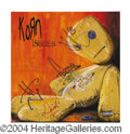 Autographs, Korn Group Signed Issues Album