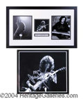 Autographs, Led Zeppelin Impressive Signed Display