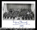 Autographs, Eugene Ormandy Signed 8 x 10 Photograph