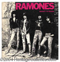 Autographs, The Ramones Rare Signed Album c.1977!