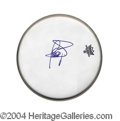 Autographs, Jessica Simpson Large Signed Drumhead