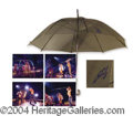 Autographs, Britney Spears Rare Concert Used & Signed Umbrella