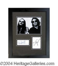 Autographs, Steely Dan Signed Framed Display