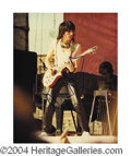 Autographs, Ron Wood In-Person Signed Photo