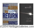 Autographs, Buzz Aldrin In-Person Signed Book