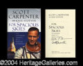 Autographs, Scott Carpenter Signed First Edition Book
