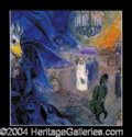 Autographs, Marc Chagall Signed Matted Art Print