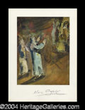 Autographs, Marc Chagall Choice Signed Art Print