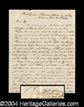 Autographs, Civil War Letter With Good Content