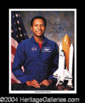 Autographs, Michael P. Anderson Columbia STS-107 Signed NASA Photo