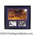 Autographs, Salvador Dali Signed Matted Display