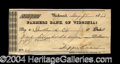 Autographs, Jefferson Davis Scarce Signed Bank Check