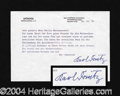 Autographs, Karl Donitz (WWII) Typed Letter Signed
