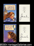 Autographs, Sarah Ferguson Duchess Signed Limited Edition Book Set