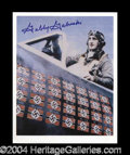Autographs, Gabby Gabreski WWII Ace Fighter Signed Photo