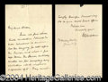 Autographs, William Gladstone Handwritten Letter Signed