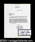 Autographs, John Glenn Typed Letter Signed