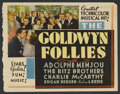 "Movie Posters:Musical, The Goldwyn Follies (United Artists, 1938). Other Company TitleLobby Card (10.75"" X 13.75""). Musical...."