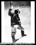 Autographs, Sir Edmund Hillary Signed Photo at Mt. Everest
