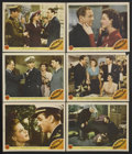 "Movie Posters:War, Pacific Rendezvous (MGM, 1942). Lobby Cards (6) (11"" X 14"").War.... (Total: 6 Items)"