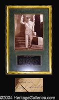 Autographs, Douglas MacArthur Beautiful Signed Framed Photo