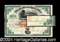 Autographs, William Mahone Civil War Signed Stock Certificate