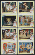 """Movie Posters:Comedy, Top Banana (United Artists, 1954). Lobby Card Set of 8 (11"""" X 14""""). Comedy.... (Total: 8 Items)"""